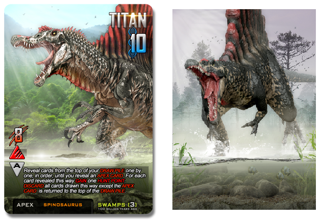 Taken from https://www.kickstarter.com/projects/1357788757/apex-theropod-deck-building-game  and https://www.kickstarter.com/projects/1357788757/apex-theropod-deck-building-game/posts/855189