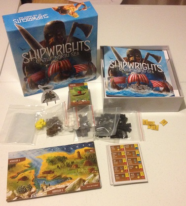 Shipwrights of the North Sea box content