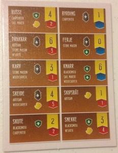 Shipwrights of the North Sea Ship Card