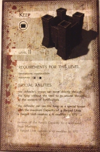 The Convicted Keep card