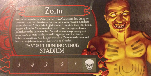 Zolin Till Dawn Card