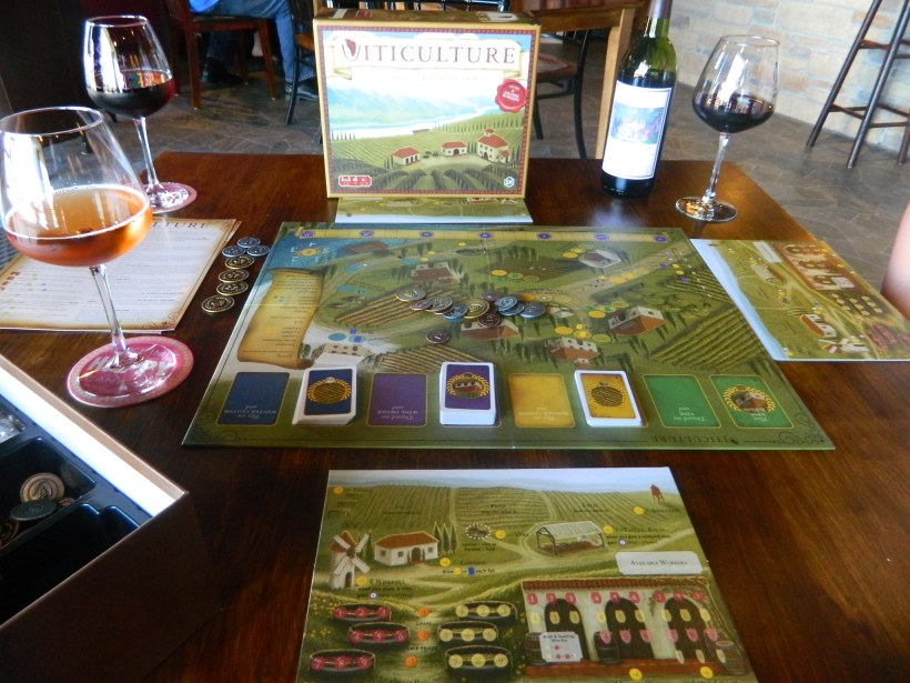 cog gaming board game review - Viticulture at Perrine Winery