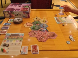 Takenoko on Cruise Ship
