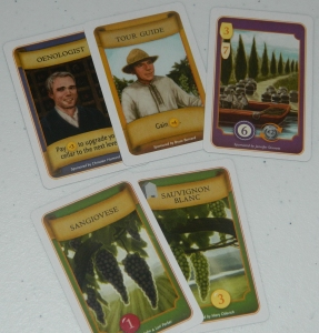 cog gaming board game review - Viticulture Cards