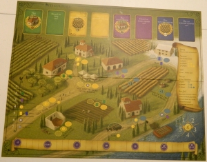 cog gaming board game review - Viticulture board