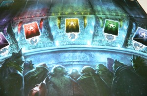 cog gaming board game review - Abyss Board Detail