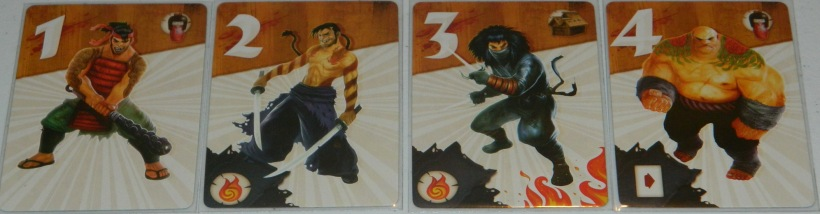 cog gaming board game review - samurai spirit raider cards