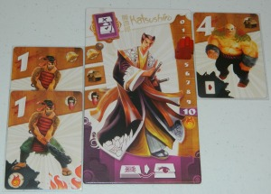 cog gaming board game review - samurai spirit player board