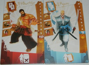 cog gaming board game review - samurai spirit player board examples