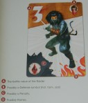 cog gaming board game review - samurai spirit raider card