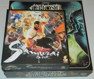 cog gaming board game review - samuraispiritvsghoststories