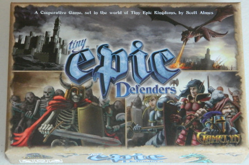 Cog Gaming Review Tiny Epic Defenders Deluxe Edition
