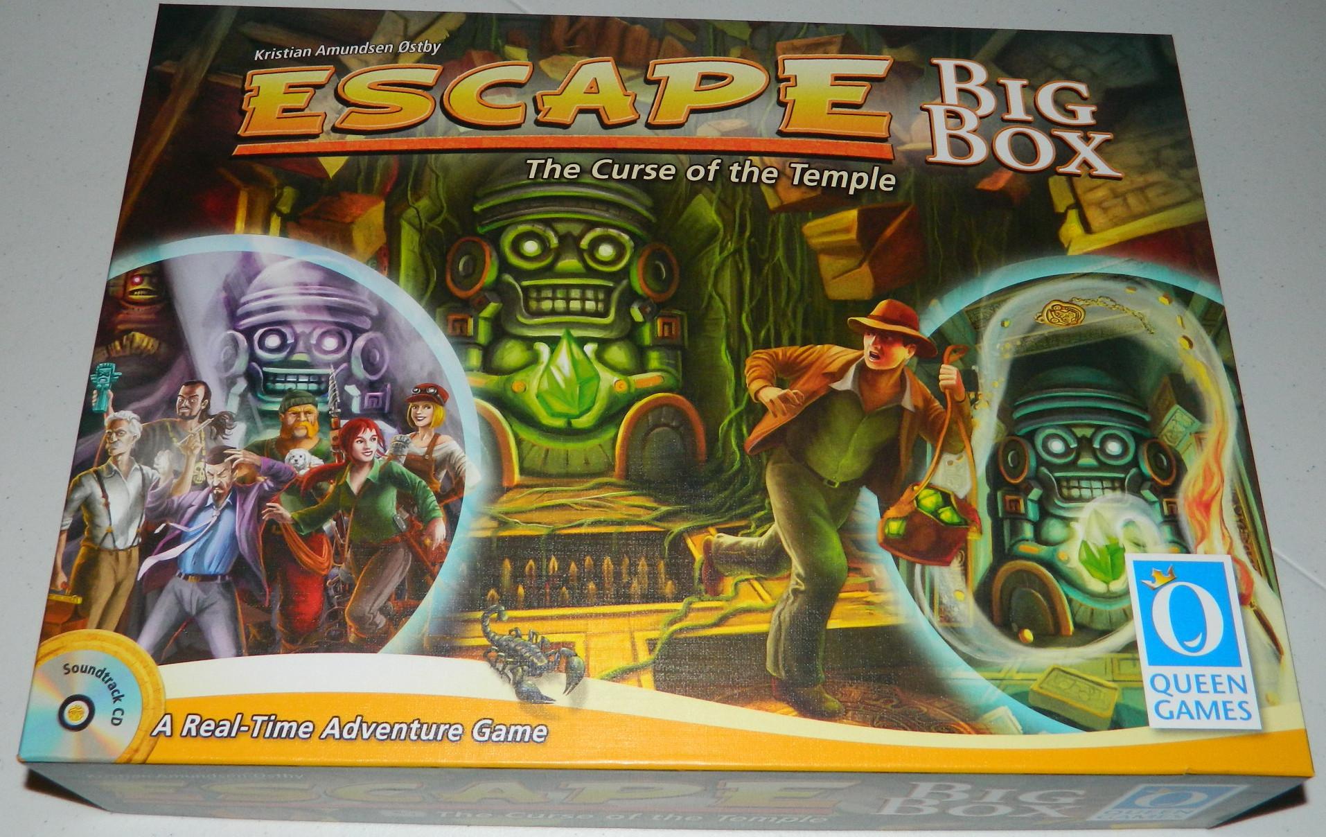Escape Room Board Game Destroy