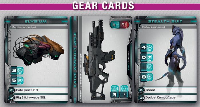 Faith RPG Gear cards