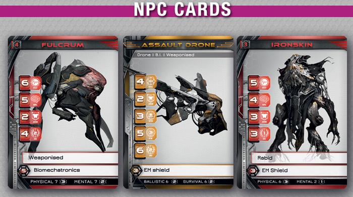 Faith rpg npc cards