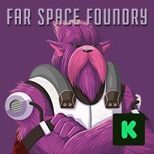 far space foundry purple alien