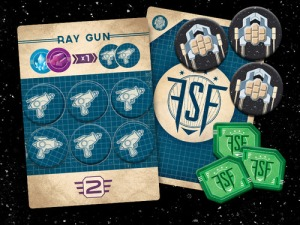 cog gaming board game review - far space foundry product
