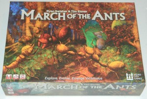 cog gaming board game review -  march of the ants box