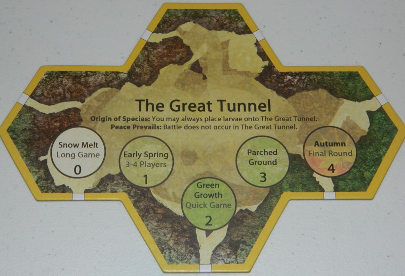 cog gaming board game review - march of the ants great tunnel