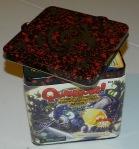 cog gaming board game review - Quarriors tin