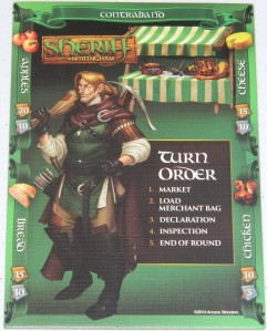 cog gaming board game review - sheriff of nottingham evil robin hood