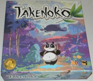 cog gaming board game review - Takenoko Box