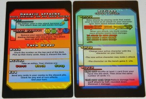 COG Gaming - Button Bashers Turbo general reference cards