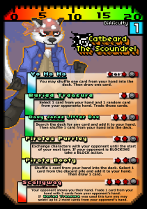 COG Gaming - Button Bashers Turbo Catbeard character card