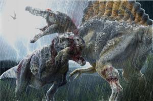 COG Gaming - Apex Theropod Deck Building Game Tyrannosaurus Rex vs. Spinosaurus