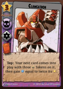 COG Gaming - Millennium Blades card example