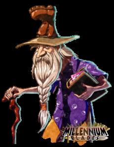 COG Gaming- Millennium Blades wizard character