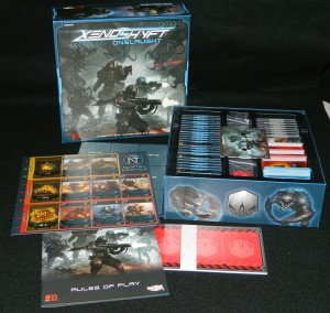 COG Gaming - Cool Mini or Not Xenoshyft Onslaught Box Contents