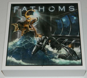 Fathoms prototype box for COG Gaming review