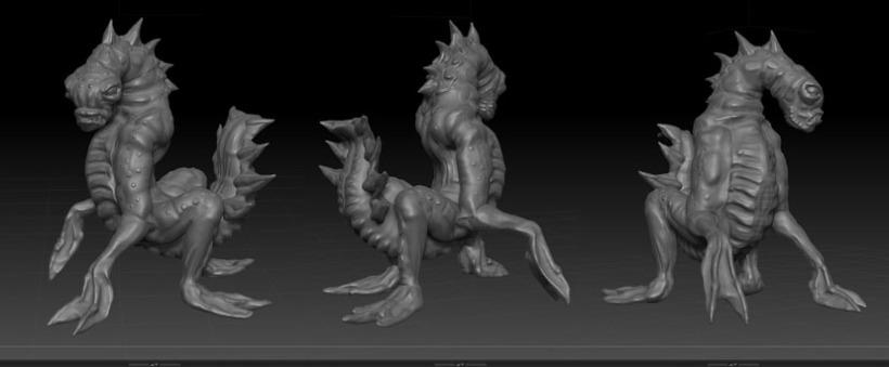 Fathoms creature 3d models