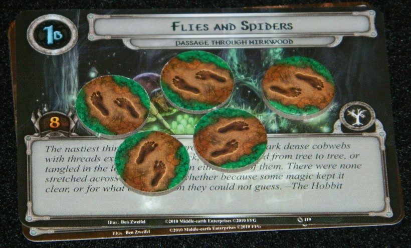 Lord of the Rings LCG Flies and Spiders card for Passage Through Mirkwood | COG Gaming