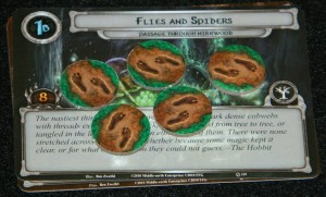 COG Gaming - Flies and Spiders card from Passage Through Mirkwood in Lord of the Rings LCG