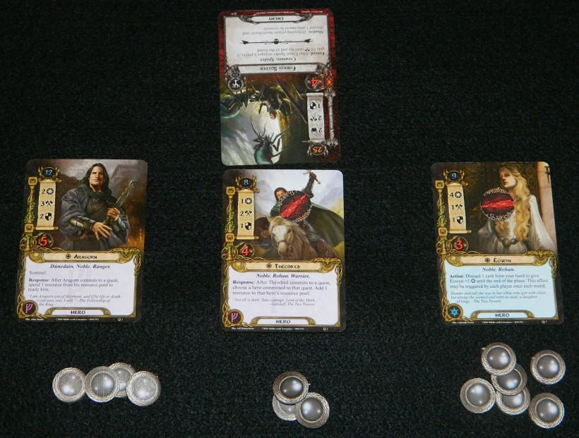 COG Gaming's situation third round in LOTR LCG