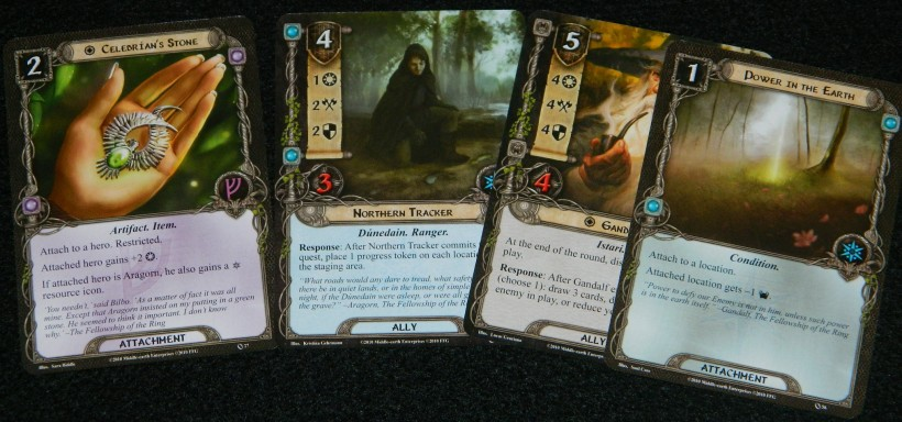 COG Gaming Lord of the Rings LCG hand
