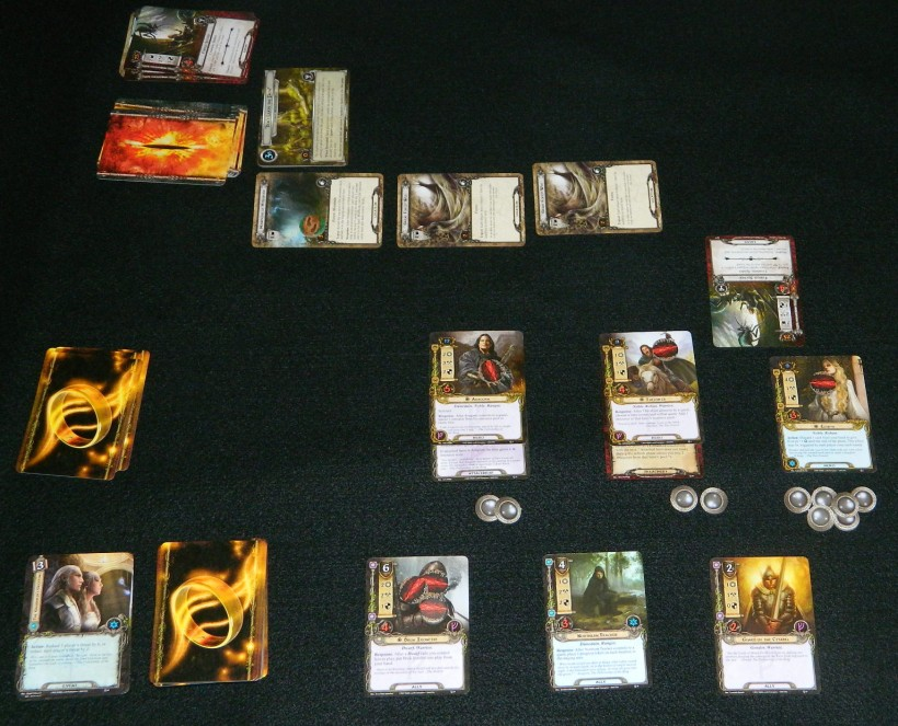 COG Gaming situation in Lord of the Rings the Card Game