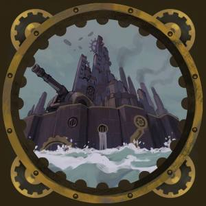 Steampunk fortress for Aether Captains
