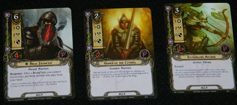 Lord of the Rings Card Game - COG Gaming Ben's allies