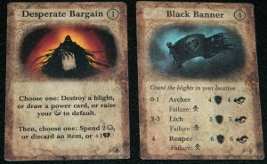Darkest Night event card examples for COG Gaming Review