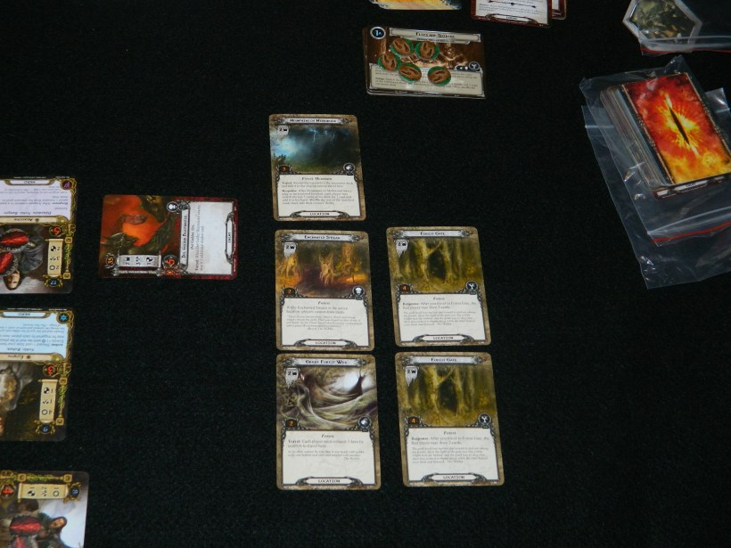 Lord of the Rings LCG 5 locations