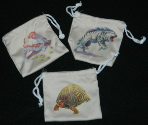 Evolution board game food token bags