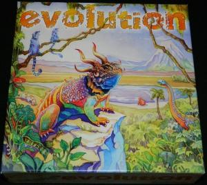 Evolution board game box art