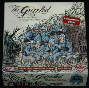 The grizzled Box art - COG Gaming review