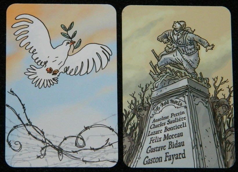 The Grizzled Peace and Monuments card for COG Gaming Review