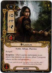 Legolas from The Lord of the Rings LCG | COG Gaming