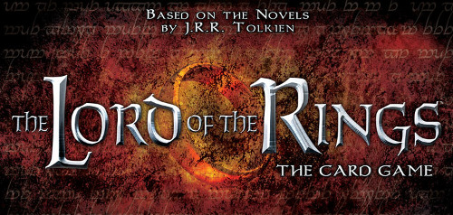 Small Lord of the Rings the Card Game logo for COG Gaming blog series