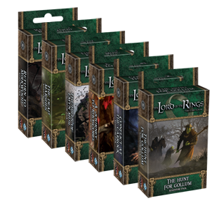 Mirkwood Cycle for the Lord of the Rings LCG. Original from https://www.fantasyflightgames.com/media/ffg_content/lotr-lcg/Shadows%20of%20Mirkwood/mirkwood-lineup.png